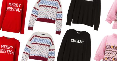 12 Fashionable Christmas Sweaters To Buy In 2019 | ELLE Australia