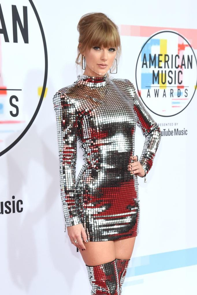 In Balmain at the American Music Awards in October 2018. <br><br> *Image: Getty*