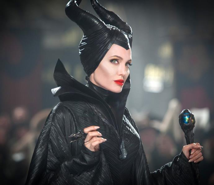 ***Maleficent*** <br><br> Angelina Jolie's memorable turn starring in the origin story of the villainous fairy from *Sleeping Beauty*.