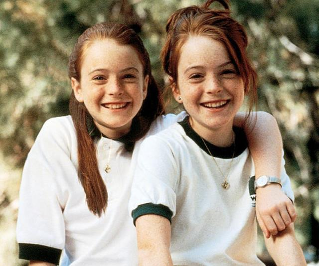 ***The Parent Trap*** <br><br> Lindsay Lohan works double-time to play twin sisters who decide to reunite their divorced parents.