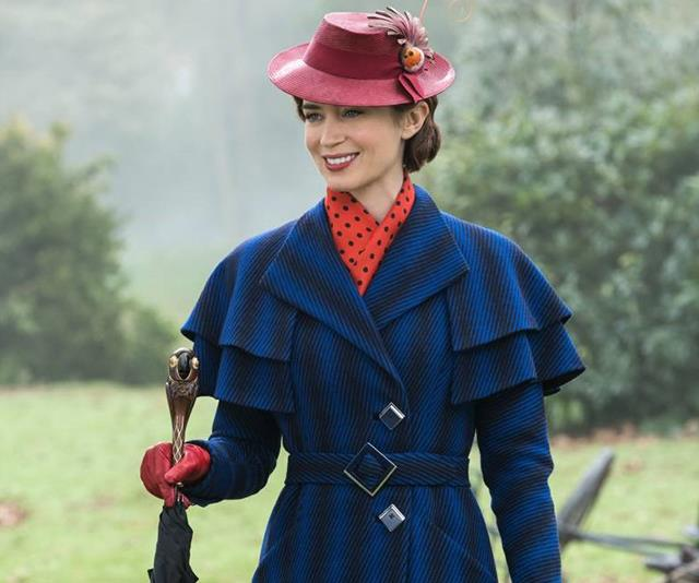 ***Mary Poppins Returns*** <br><br> Emily Blunt's award-nominated turn as one of cinema's most-loved characters.