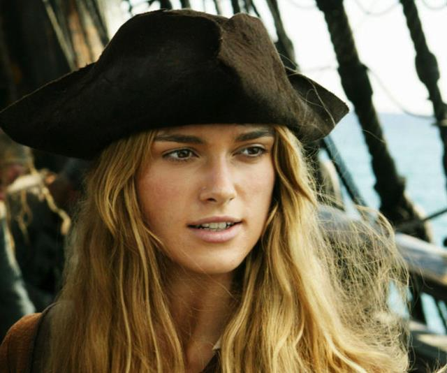 ***Pirates Of The Caribbean*** <br><br> Keria Knightley and Orlando Bloom play civilians caught up in pirate hi-jinks on the high seas.