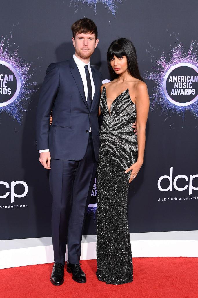 James Blake and Jameela Jamil