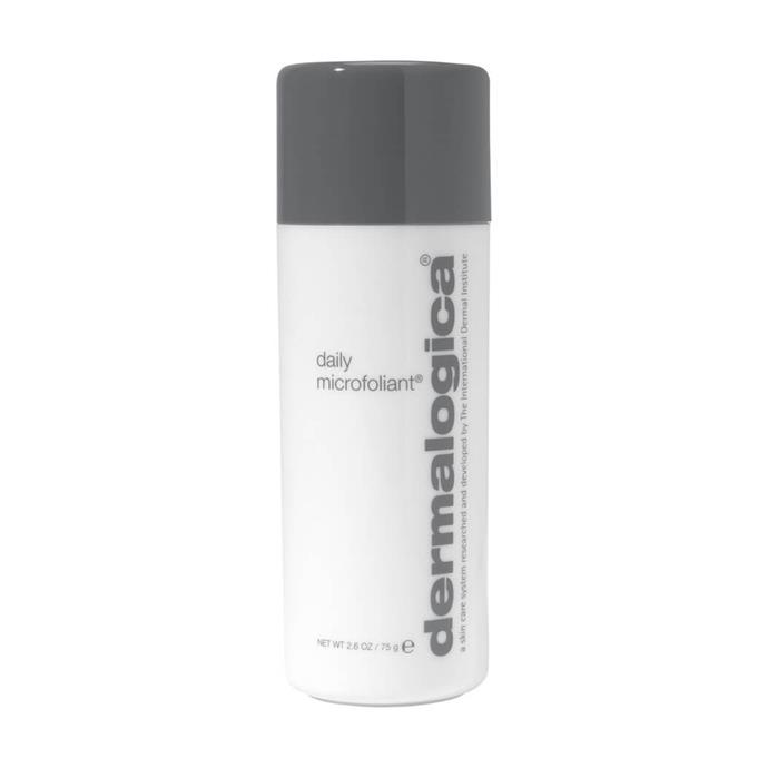 """To remove the layers of sunscreen I'm slathering on my face during summer, my go-to product is Dermalogica's daily microfoliant. Unlike other exfoliators I find this one super gentle making it great for everyday use. It's made my skin smoother and brighter—win, win!""<br><br>*Samantha Wong, market editor.*<br><br> Daily microfoliant by Dermalogica, $86.50 at [MECCA](https://www.mecca.com.au/dermalogica/daily-microfoliant/V-027533.html