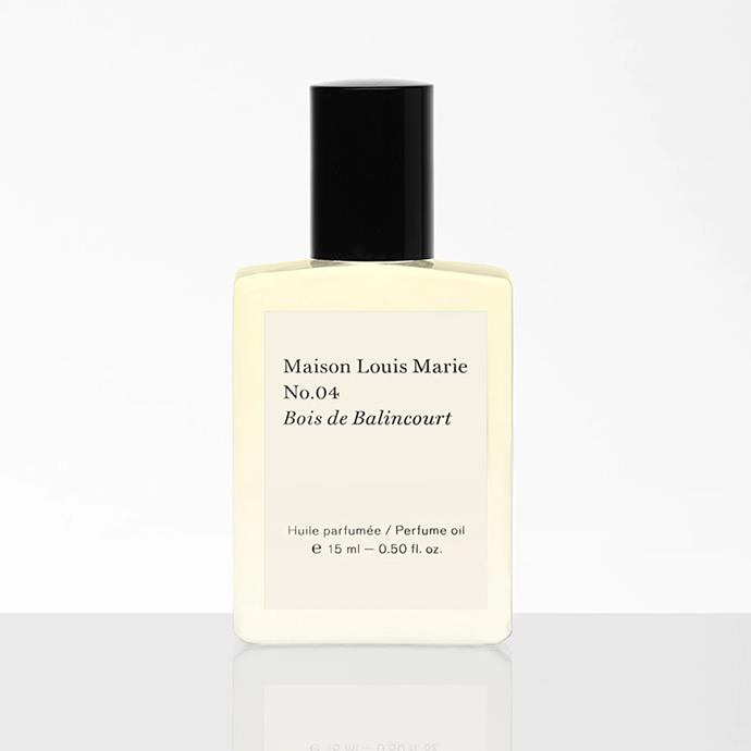 """I am requesting a bottle of Bois de Balincourt perfume oil from Maison Louis Marie. I love their scents (I wore this particular one on my wedding day) and especially love the roll-on oil versions as they somehow outlast the summer heat.""<br><br>*Susannah Guthrie, digital director.* <Br><br> Perfume oil, $83 by [Maison Louis Marie](https://maisonlouismarie.com/products/no-04-bois-de-balincourt-perfume-oil