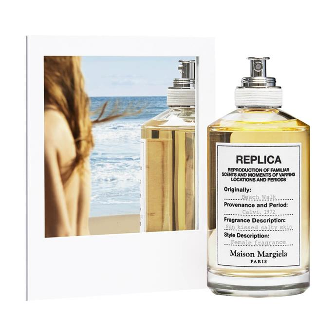 """I have a slight obsession with fragrances and right now I'm coveting this breezy little number from Maison Margiela. Perfect for summer, it honestly smells like a heavenly day at the beach in a bottle, which is a place I aspire to be at all times.""<br><br>*Sukriti Wahi, digital writer.*<br><br> Beach Walk by Maison Margiela, $170 at [MECCA](https://www.mecca.com.au/maison-margiela/beach-walk-edt/V-031309.html?cgpath=fragrance