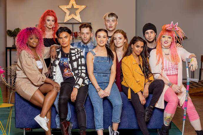 **Glow Up (06/12/2019)** <br><br> Aspiring makeup artists apply themselves to celebrity looks, movie prosthetics and more in a colorful competition show hosted by Stacey Dooley.