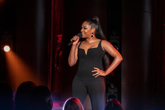 **Tiffany Haddish: Black Mitzvah (03/12/2019)** <br><Br> On her 40th birthday, Tiffany Haddish drops a bombastic special studded with singing, dancing and raunchy reflections on her long road to womanhood.