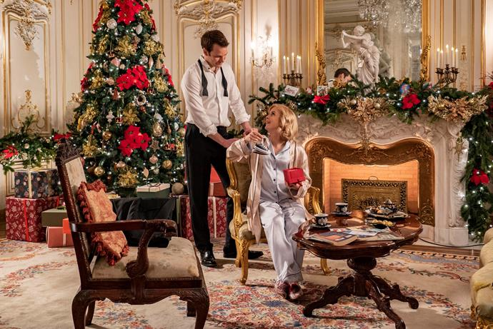**A Christmas Prince: The Royal Baby (05/12/2019)** <br><br> Christmas brings the ultimate gift to Aldovia: a royal baby. But first, Queen Amber must help her family and kingdom by finding a missing peace treaty.