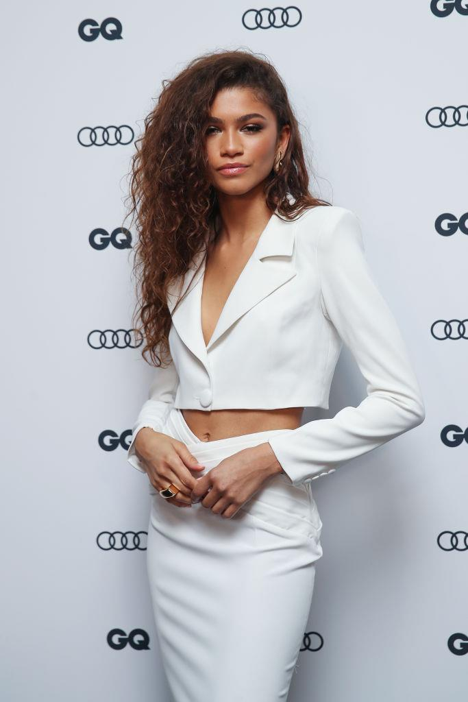 Zendaya at the GQ 'Men of the Year' Awards on November 28, 2019.
