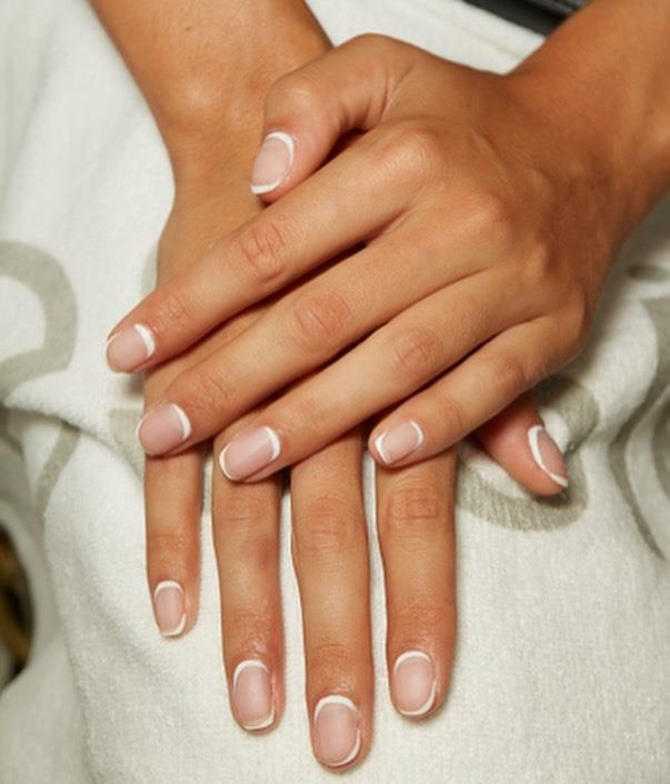 "**The Double-Cornered French Manicure**<br><br>  The French manicure is all set to continue its 2019 resurgence in 2020, thanks to leading nail artist Betina R. Goldstein's 'double-cornered' revamp on the classic technique. Much like the traditional French manicure, it features a nude base with a white tip, however, this version also features a fine white line along the base of the cuticle for a chic, mirrored effect.<br><br>  *Image via [@betina_goldstein](https://www.instagram.com/p/B2MVudmAYoz/|target=""_blank""