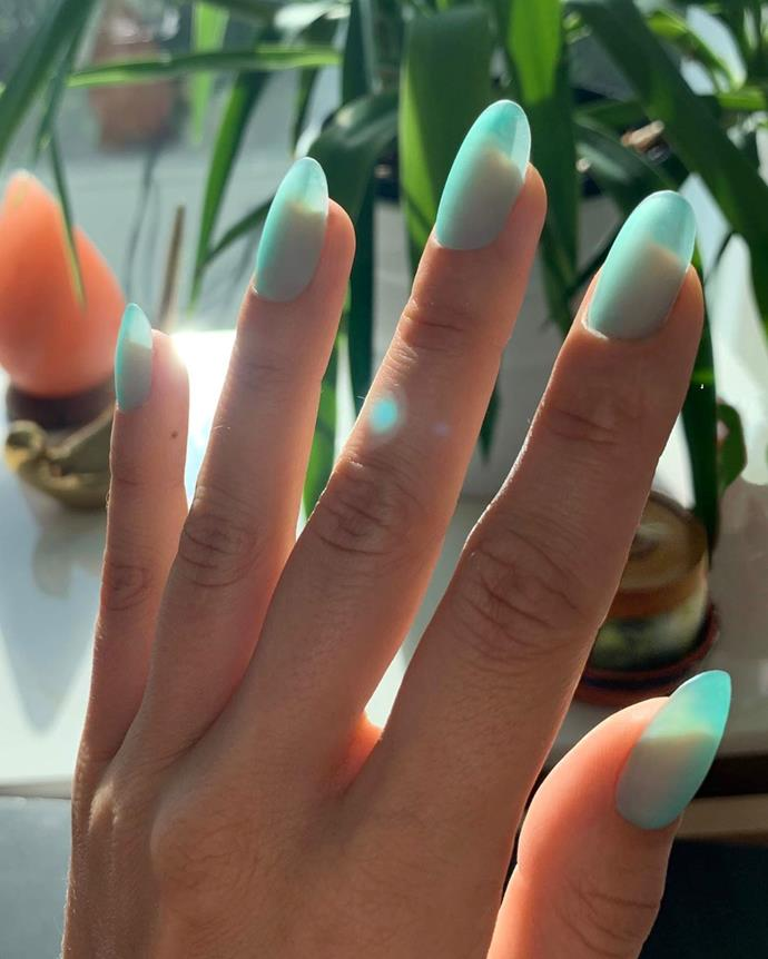 "**Seaglass Nails**<br><br>  Coined and created by nail artist Jessica Washick, [seaglass nails](https://www.elle.com.au/beauty/seaglass-nail-trend-22535|target=""_blank"") are the new season answer to last year's jelly nails. Although inspired by their predecessor, seaglass nails feature a more opaque colour and finish, thanks to a matte top coat. Want to try it for yourself? You can check out Washick's tutorial on how to achieve them [here](https://www.instagram.com/p/B4fiPZSHFKR/