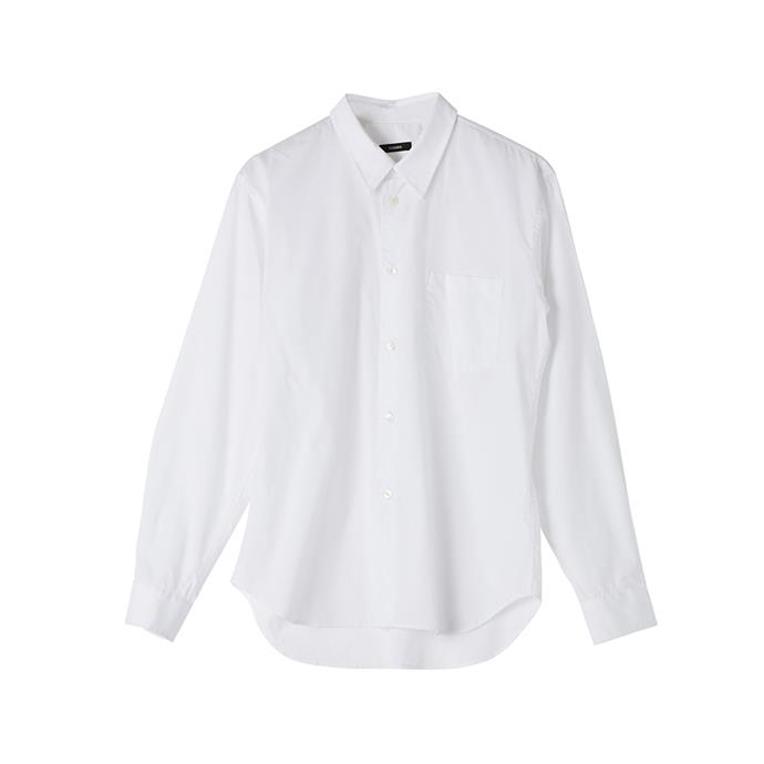 "THE WHITE SHIRT: White shirt, $340 from [bassike](https://www.bassike.com/collections/women-shirts/products/casual-shirt-ll-aw18wft43-white|target=""_blank""