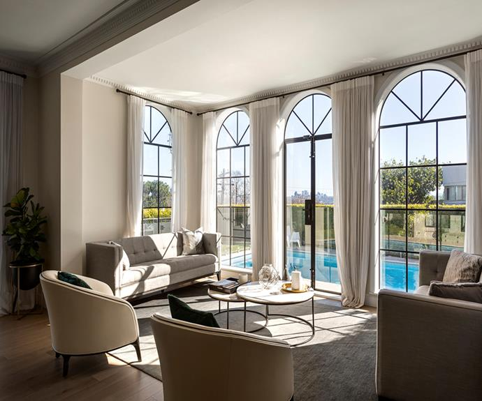 "**Kambala House, Bellevue Hill, Sydney** <br><br> *Approx $2631 per night, sleeps 8 guests*  <br><br> Staying at this well-located Sydney spot, you can unwind on world-class beaches or venture into the constantly buzzing CBD. Or you can stay in, and live in the lap of luxury (for a weekend) in this upscale Bellevue Hill mansion. <br><br> [Book through Airbnb here.](https://www.airbnb.com.au/luxury/listing/23416487/?adults=1&children=0&infants=0&guests=1|target=""_blank""