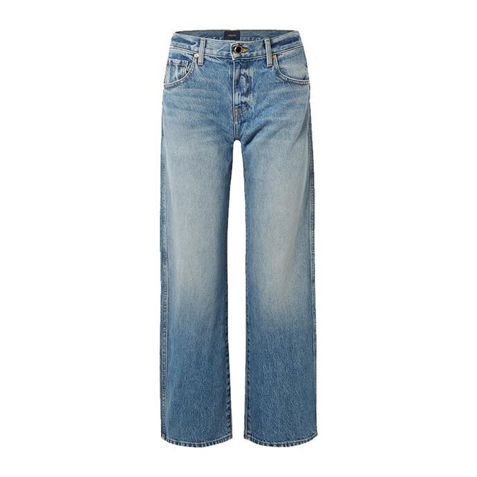 "THE JEANS: Khaite jeans, $462 from [NET-A-PORTER](https://www.net-a-porter.com/au/en/product/1175672/khaite/kerrie-mid-rise-straight-leg-jeans target=""_blank"" rel=""nofollow"")."