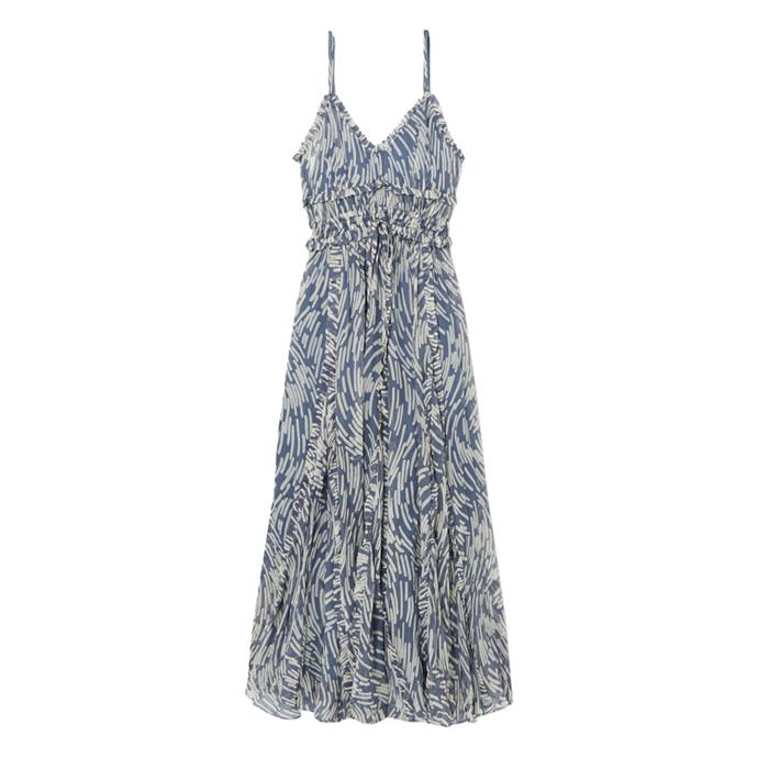 "Dress by Lee Mathews, $753 at [NET-A-PORTER](https://www.net-a-porter.com/au/en/product/1163397?|target=""_blank""|rel=""nofollow"")."