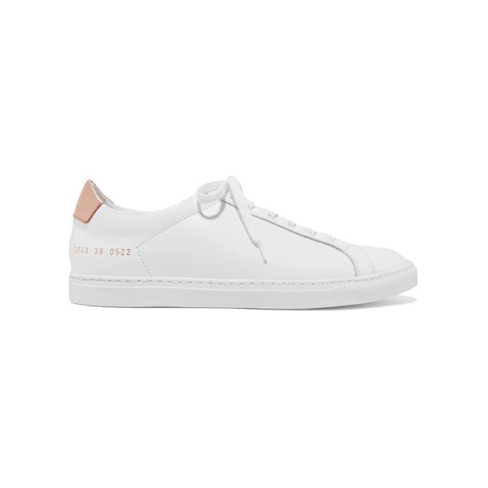 "Sneakers by Common Projects, $468 at [NET-A-PORTER](https://www.net-a-porter.com/au/en/product/1141104?|target=""_blank""|rel=""nofollow"")."