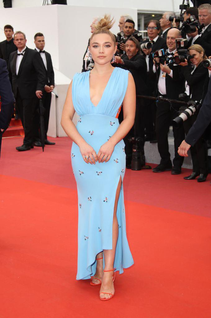 In custom Schiaparelli at the Cannes Film Festival in May 2019. <br><br> *Image: Getty*