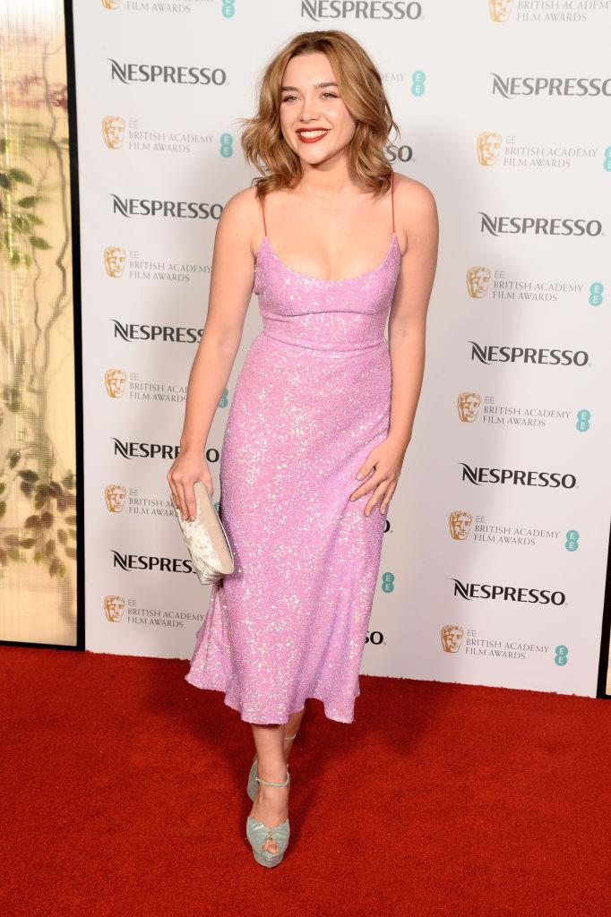 In Markarian at a BAFTAs Nominees party in February 2018. <br><br> *Image: Getty*