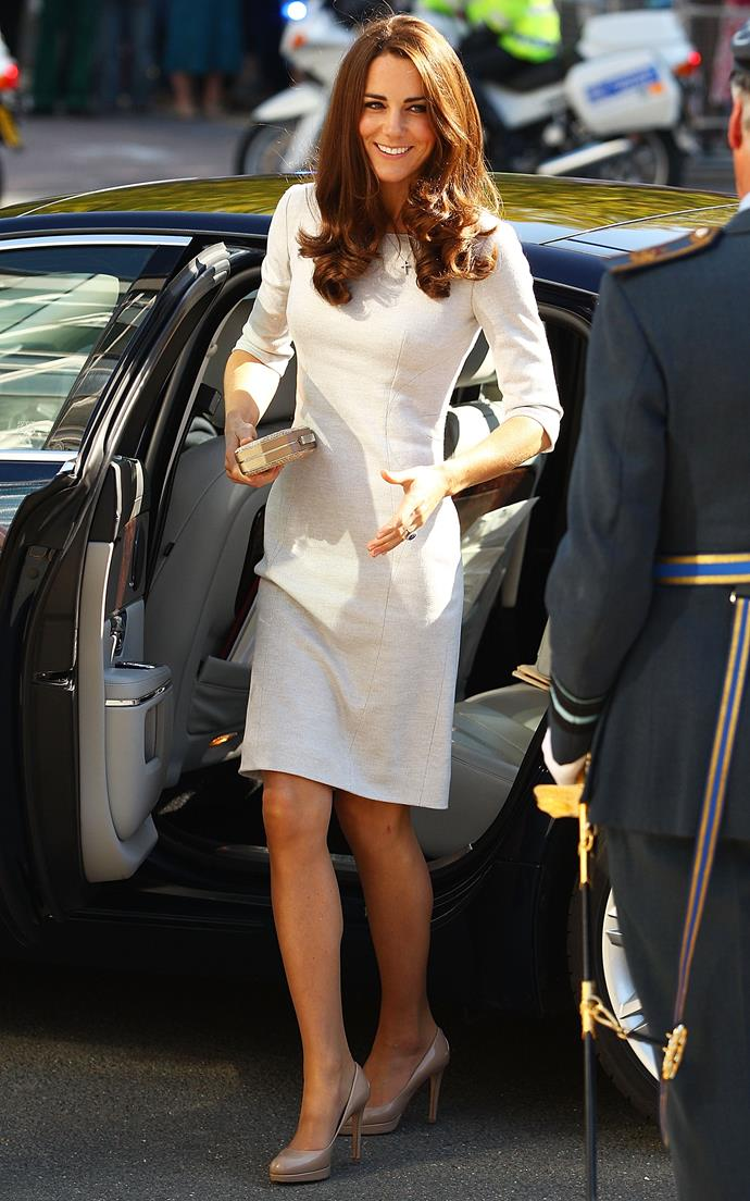 "**2011:** ***The 'Kate' Effect***<br><br>  It would be impossible to talk about fashion in 2011 without mentioning the eternally stylish Kate Middleton (can you believe this photo is from way back then?). After all, it was in 2011, the same year that she married Prince William, that the now-Duchess became a bonafide style icon. Elegant yet accessible (thanks to her reputation for enjoying [high street fashion](https://www.harpersbazaar.com.au/fashion/times-kate-middleton-dressed-affordably-13760|target=""_blank"") and [re-wearing clothes](https://www.harpersbazaar.com.au/celebrity/kate-middleton-outfit-repeats-16813