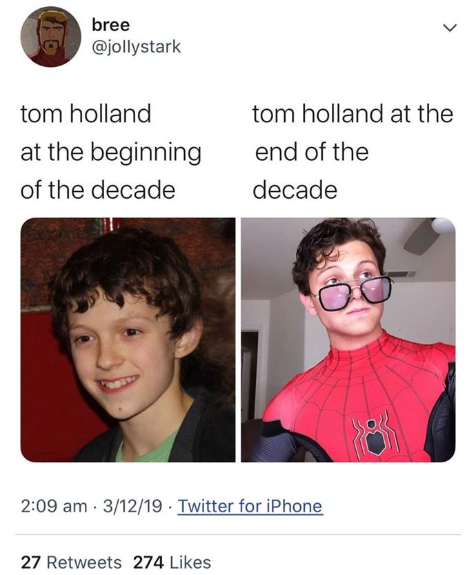 **Tom Holland**