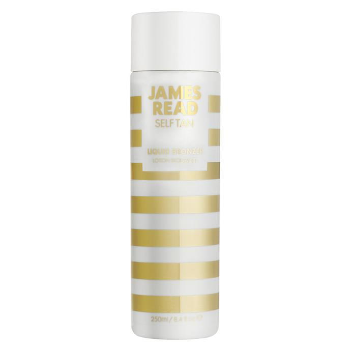 "Liquid Bronzer by James Read Tan, $49 at [MECCA](https://www.mecca.com.au/james-read-tan/liquid-bronzer/I-021980.html|target=""_blank""