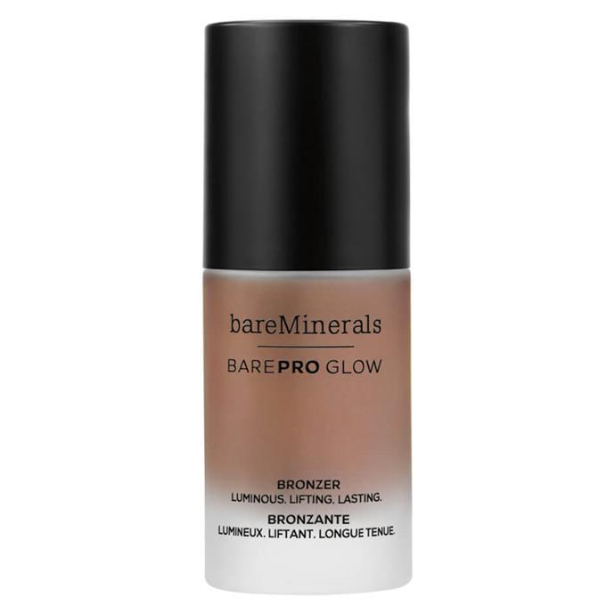 "BarePRO Glow Bronzer by bareMinerals, $44 at [MECCA](https://www.mecca.com.au/makeup/complexion/bronzer/#sz=36&start=0 target=""_blank"" rel=""nofollow"")"