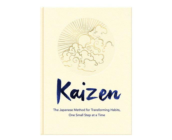 "***Kaizen: The Japaneze Method For Transforming Habits, One Small Step at a Time* by Sarah Harvey** <br><br> This book is your step-by-step guide to building better habits and transform your life—think [Marie Kondo](https://www.elle.com.au/news/10-ways-marie-kondo-can-bring-more-joy-into-your-life-5965|target=""_blank""), but for your mind. Harvey treats change as an ongoing process rather than a series of 'quick-fixes'. So write down your New Year's resolutions and let this book guide you on your way to better goal-planning, sleep habits, relationships and organisational skills."