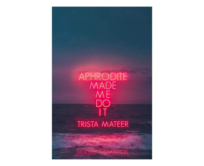 ***Aphrodite Made Me Do It* by Trista Mateer** <br><br> Mythology meets poetry in this empowering collection that offers a creative approach to self-care to nourish your inner-goddess. From heartbreak and trauma to womanhood and healing, Mateer will take you on an emotional journey that might just be the inspiration you need to kick-start the new decade.