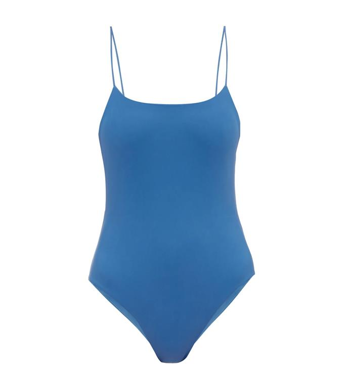 "Jade Swim Trophy scoop-back jersey swimsuit, $244 at [MATCHESFASHION.COM](https://www.matchesfashion.com/au/products/Jade-Swim-Trophy-scoop-back-jersey-swimsuit-1322800|target=""_blank""