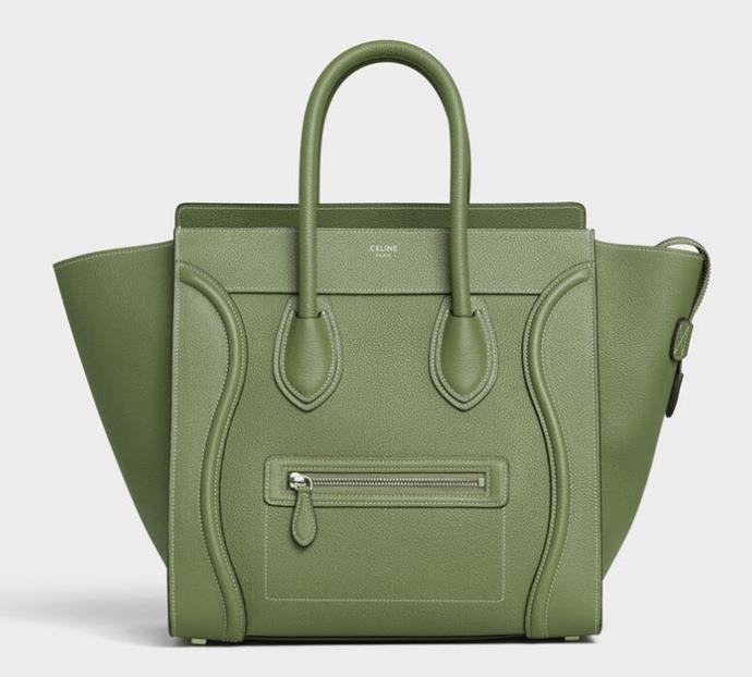 "*Mini 'Luggage' handbag by Celine, $4,050 at [CELINE](https://www.celine.com/en-au/celine-women/handbags/new/mini-luggage-handbag-in-drummed-calfskin-189213DRU.15LK.html|target=""_blank""