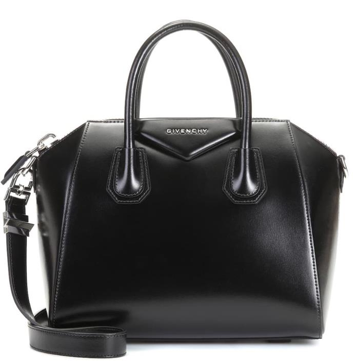 "*Small 'Antigona' leather tote by Givenchy, $3,150 at [My Theresa](https://fave.co/2rj4IR9|target=""_blank""