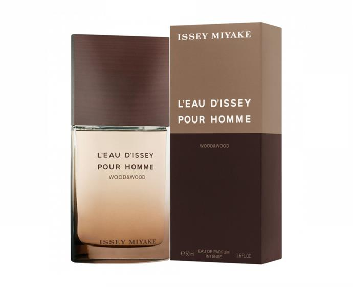 "**L'eau D'issey Pour Homme Wood&Wood Intense EDP 50 mL by Issey Miyake, $116 at [Priceline](https://www.priceline.com.au/issey-miyake-l-eau-d-issey-pour-homme-wood-wood-intense-edp-50-ml|target=""_blank""