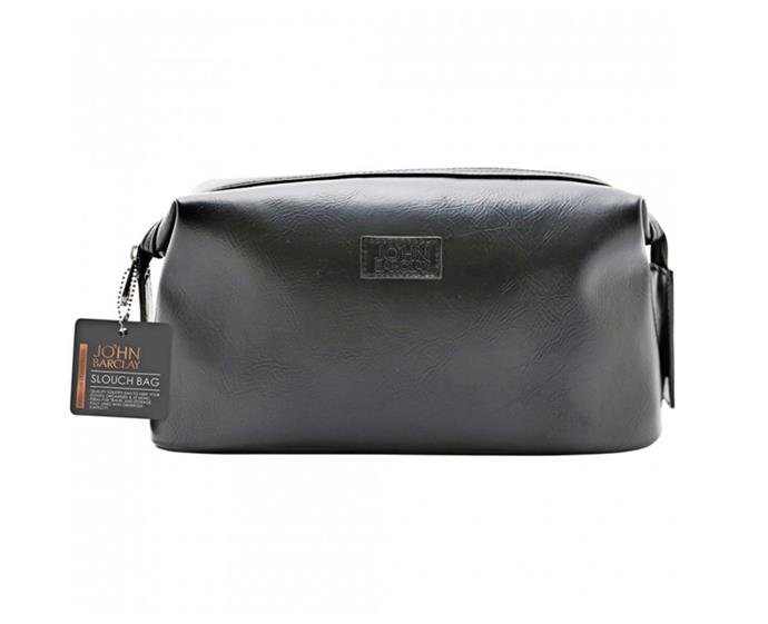 "**Slouch Bag by John Barclay, $15 at [Priceline](https://www.priceline.com.au/mens/mens-toiletries/john-barclay-slouch-bag-1-ea|target=""_blank""