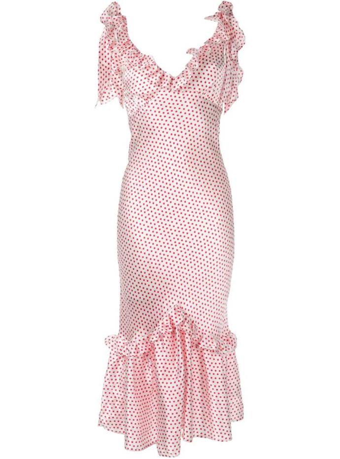 """'You Can Hold Your Own' dress by Maggie Marilyn, $422 at [Farfetch](https://fave.co/2sgEoXQ