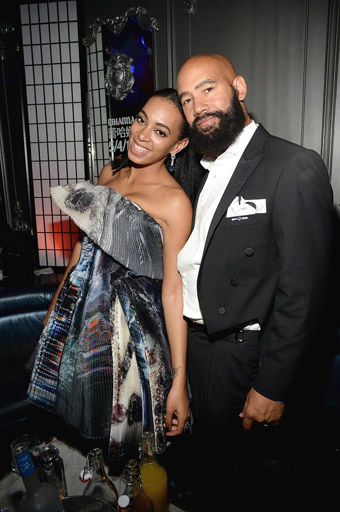 "**Solange and Alan Ferguson** <br><br> Five years after their wedding in 2014, singer Solange announced via [Instagram](https://www.instagram.com/p/B4VZMkyJCJ9/|target=""_blank""