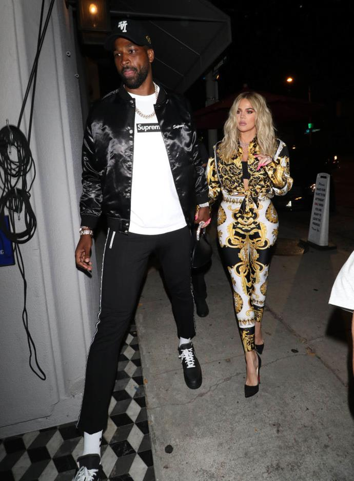 "**Khloé Kardashian and Tristan Thompson** <br><br> It's hard to forget the split between Khloé Kardashian and her now-ex, Tristan Thompson, in February 2019, which was caused by a cheating scandal between Thompson and [Jordyn Woods](https://www.elle.com.au/celebrity/jordyn-woods-scandal-response-20959|target=""_blank""), a close friend of the family. <br><br> Kardashian has since spoken candidly about the circumstances that caused the split, and has openly forgiven Thompson, though they haven't reconciled their relationship."