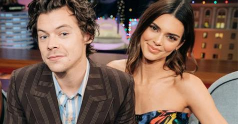 Kendall Jenner Asks Harry Styles Which Songs Are About Her | ELLE Australia