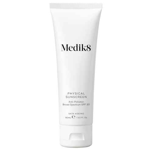 "**Physical Sunscreen 90ml by Medik8, $78 at [Adore Beauty](https://www.adorebeauty.com.au/medik8/medik8-physical-sunscreen-90ml.html|target=""_blank""
