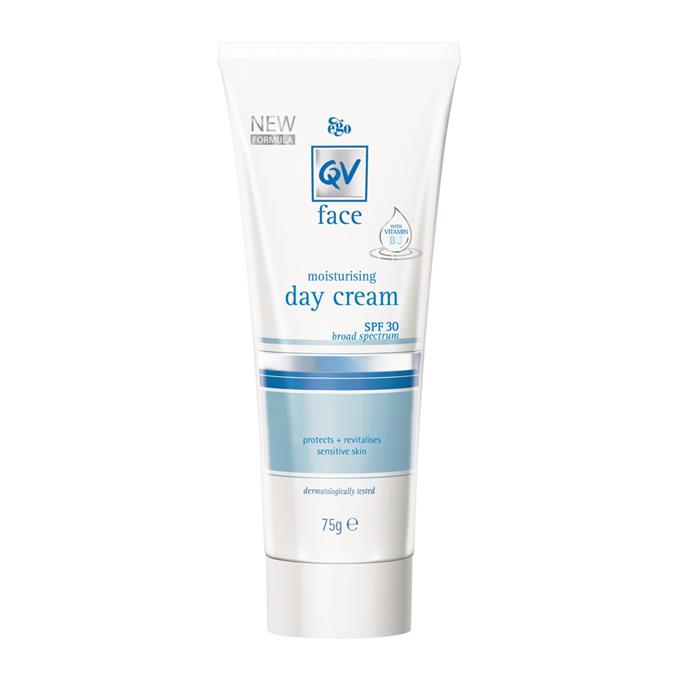 "**Moisturising Day Cream SPF 30 Broad Spectrum 75g by EGO QV, $16.95 at [Priceline](https://www.priceline.com.au/ego-qv-face-moisturising-day-cream-75-g|target=""_blank""