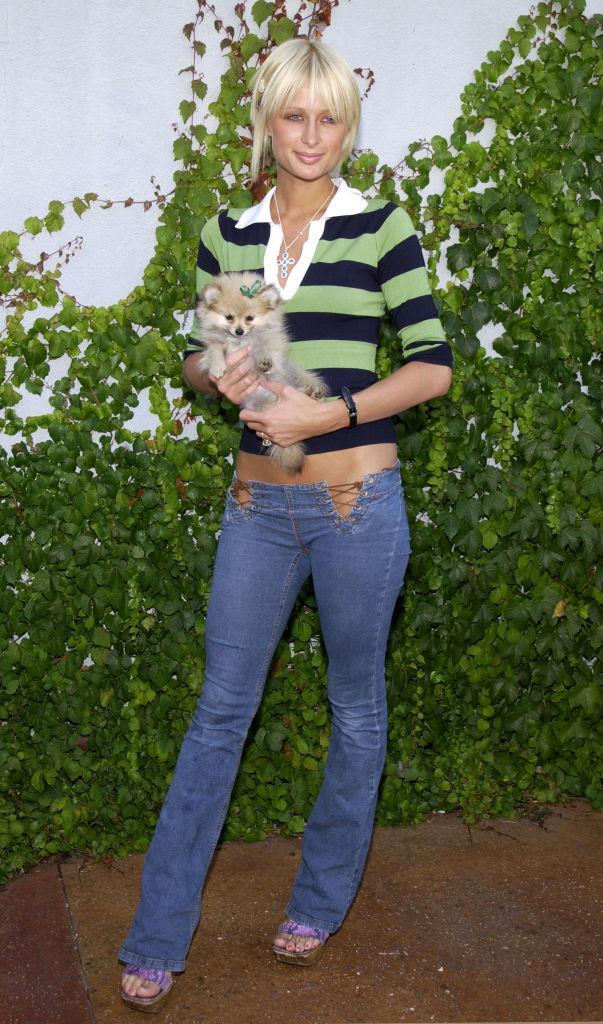 Paris Hilton in 2002.