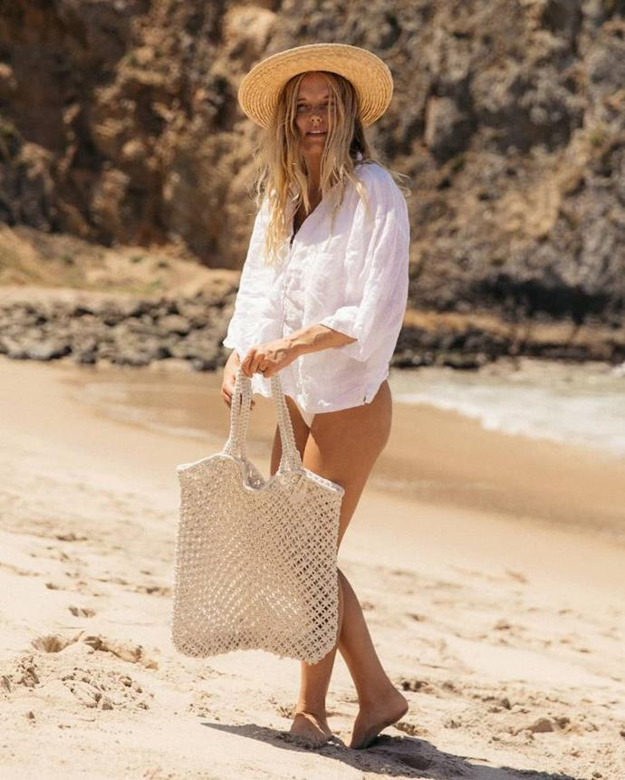 "**The Beach People** <br><br> An Aussie beach brand offering laid-back Byron Bay vibes in a bag. <br><br> *[Shop them here.](https://thebeachpeople.com.au/collections/beach-bags|target=""_blank""