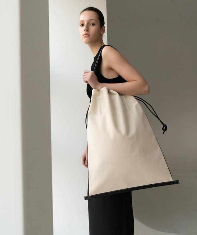 "**Le 17 Septembre** <br><br> A high-fashion take on the humble beach bag. <br><br> *[Shop them here.](https://www.mychameleon.com.au/designer/le-17-septembre|target=""_blank""