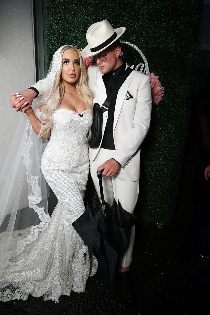 """**10. Jake Paul and Tana Mongeau** <br><br> The over-the-top wedding of YouTube mega-stars Tana Mongeau and Jake Paul was unsurprisingly a top search in 2019, despite Mongeau later revealing it wasn't technically """"legally binding""""."""