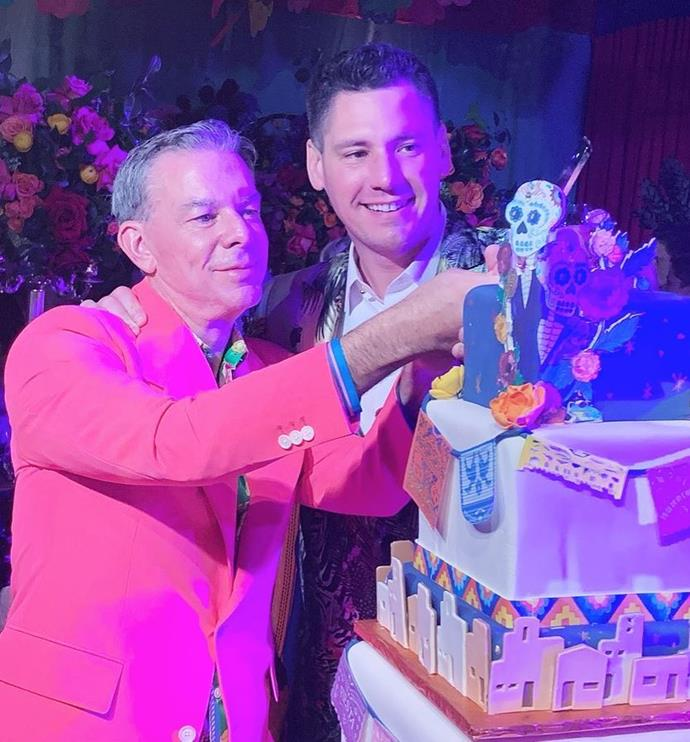 **8. Elvis Duran and Alex Carr** <br><br> Beloved U.S. radio host Elvis Duran made headlines the world over when he married his longtime partner, Alex Carr, in a colourful, Day of the Dead-themed wedding in Santa Fe, New Mexico.