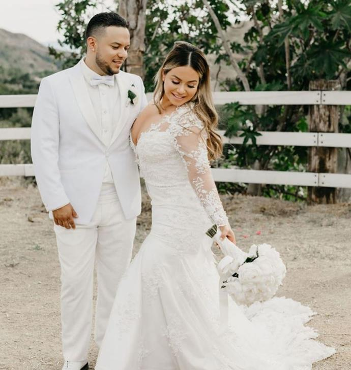 **5. Chiquis Rivera and Lorenzo Méndez** <br><br> Telemundo reality stars and singers Chiquis Rivera and Lorenzo Méndez married in a June 2019 ceremony, generating plenty of interest in the U.S. and abroad.
