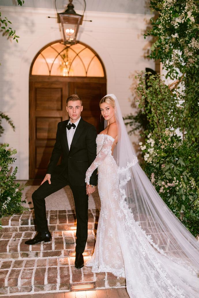 """**3. Justin Bieber and Hailey Bieber** <br><br> We bet you thought this would be number one didn't you? While the Biebers' September 2019 [nuptials](https://www.elle.com.au/celebrity/justin-bieber-hailey-baldwin-wedding-instagram-22366