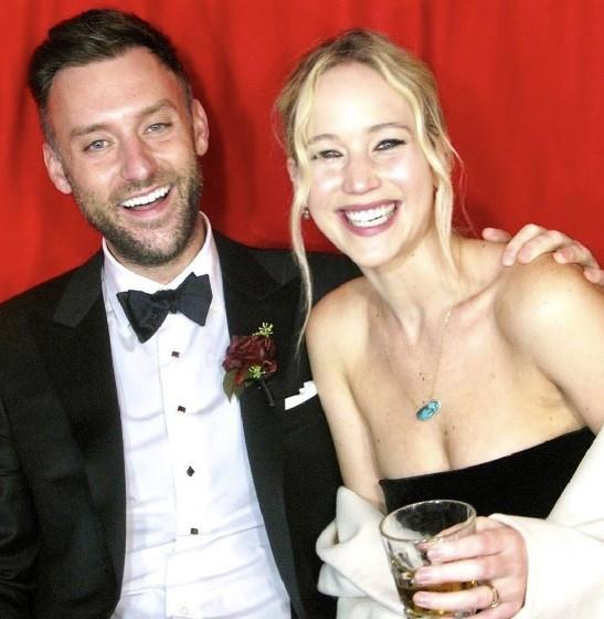 """**2. Jennifer Lawrence and Cooke Maroney** <br><br> While we're unlikely to ever see photos from the famously private actress' wintry [wedding](https://www.elle.com.au/fashion/jennifer-lawrence-wedding-dress-photos-22488