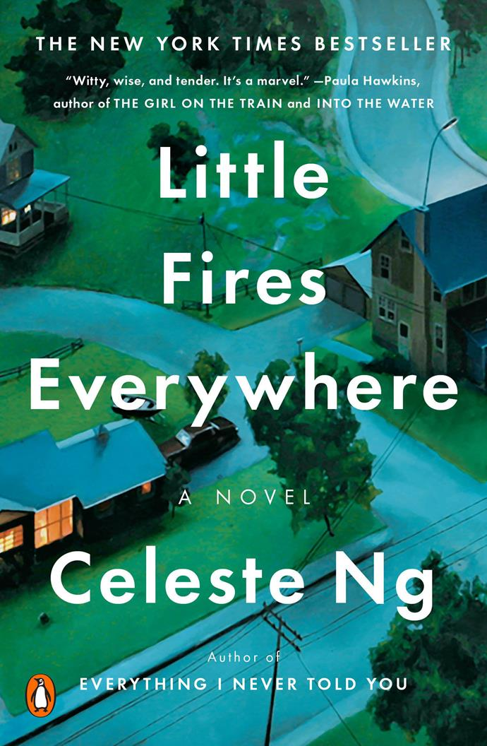 "***Little Fires Everywhere*** **by Celeste Ng**<br><br>  Starring and produced by Reese Witherspoon and Kerry Washington, [*Little Fires Everywhere*](https://www.harpersbazaar.com.au/culture/little-fires-everywhere-tv-show-19810|target=""_blank"") is set in American suburbia, where white picket fences hide major dysfunction. No one embodies the illusion of this perfection better than Elena Richardson and her seemingly idyllic family. Enter: Mia Warren, an enigmatic single mother with a mysterious past, who arrives with her teenage daughter Pearl and rents a house from the Richardsons, befriending them in the process. But when old family friends of the Richardsons attempt to adopt a Chinese-American baby, a custody battle ensues and abruptly divides the town, putting Mia and Elena on opposing sides. Suspicious of Mia, Elena makes it her mission to uncover the secrets in Mia's past—but her obsession will come at unexpected and devastating costs. The mini-series is available to watch on Amazon Prime Australia.<br><br>  *Check out the trailer below*."