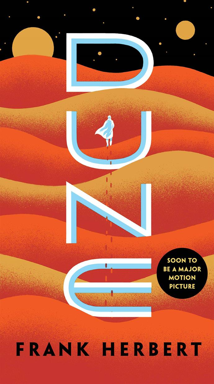 ***Dune*** **by Frank Herbert**<br><br>  Calling all fans of dystopian sci-fi: this one is for you. Considered one of the most popular science fiction books of all time, Frank Herbert's 1965 novel *Dune* is heading to the big screen in 2020 and stars the likes of Timothée Chalamet, Zendaya and Jason Momoa (did someone say, *dream* cast?). Set in an interstellar empire in the distant future, *Dune* tells the story of young Paul Atreides (Chalamet), whose family has vowed to guard a planet that, although inhospitable, is the only source of a drug that extends life and enhances mental abilities. As the planet is the only place the drug can be produced, power over it is highly sought-after and very dangerous, with different factions of the empire seeking to control it.